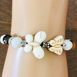 🔥5/ $20 Butterfly Lava Bead Bracelet
